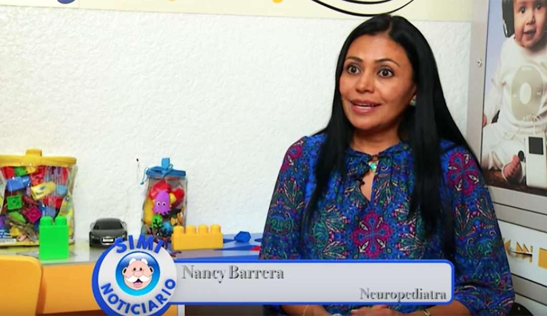 Nancy Barrera en el SimiNoticiario